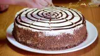 Reteta Tort cu ciocolata alba si ananas - partea 2/2 | JamilaCuisine