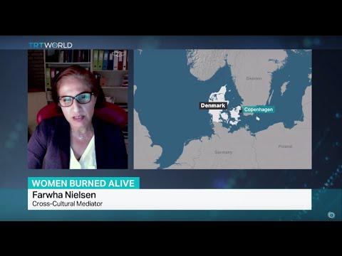 Interview with cross-cultural mediator Farwha Nielsen on Pakistani woman burnt alive