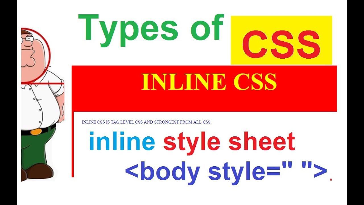 Css tutorial for beginners 05 inline & embedded styles youtube.