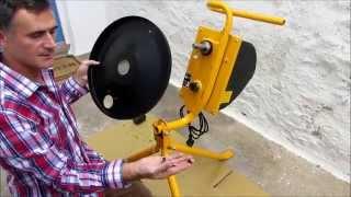 Belle Cement Mixer MC110 Unboxing & Assembly FAIL