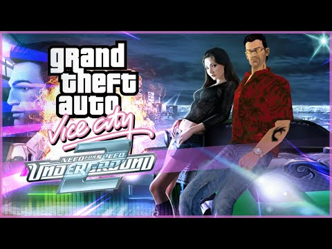 GTA Vice City NFS Underground 2 Total Conversion Mods (Gameplay)