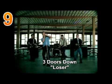 (#25-1) Billboard's Top 100 Rock Songs of the 2000's