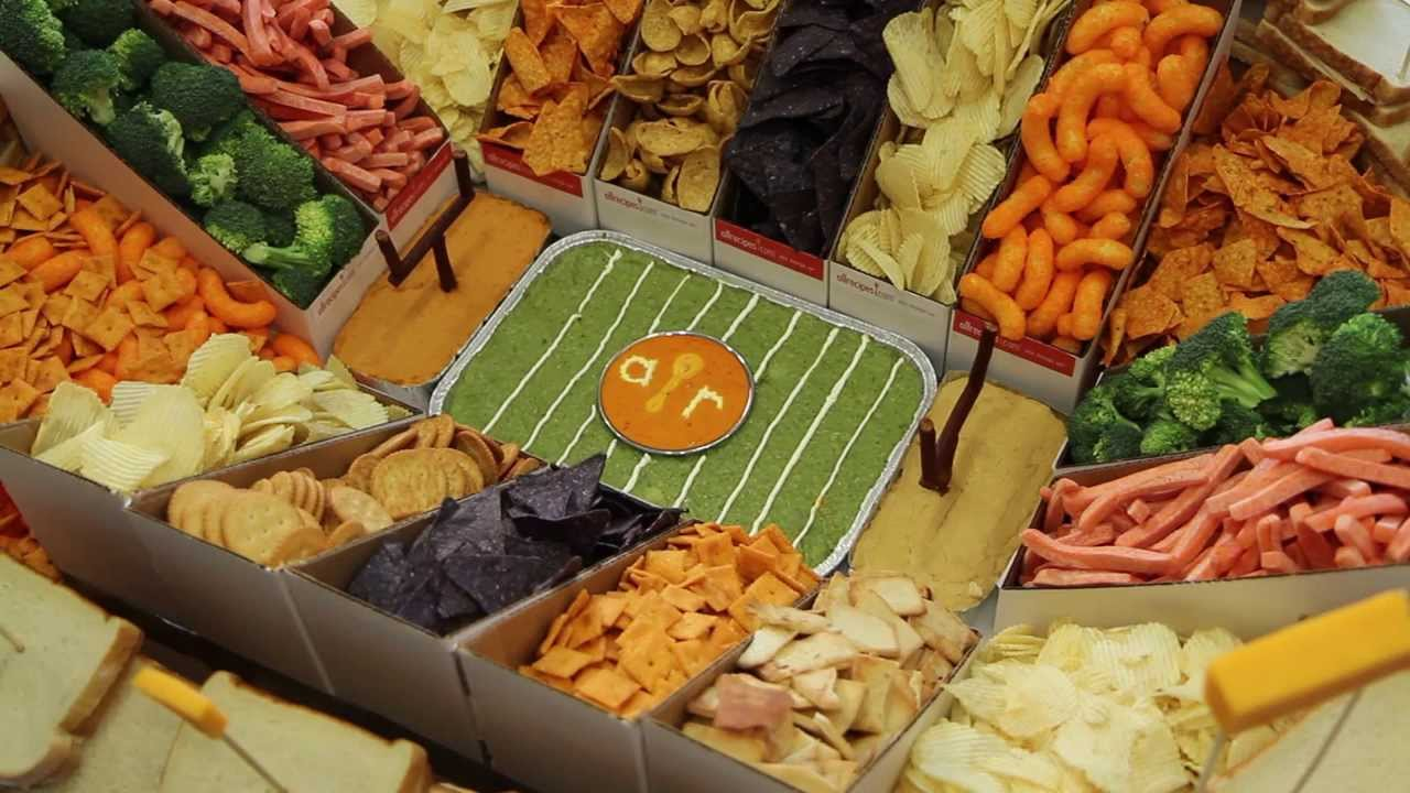 how to make a snack stadium for super bowl | snack recipes