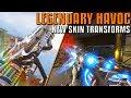 NEW Havoc Legendary Skin, It Transforms! | Apex Gameplay