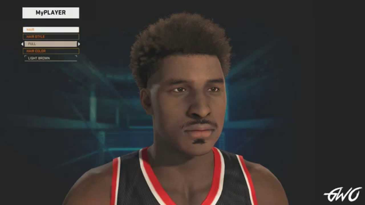 nba 2k15 - myplayer hairstyles and tattoos - youtube