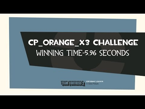 Challenge Winner -5.96 Seconds (cp_orange_x3)