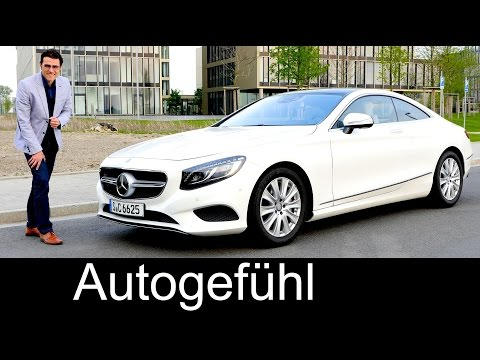 Best car ever? New Mercedes S-Class Coupé S500 DOCUMENTARY S-Klasse FULL REVIEW test driven