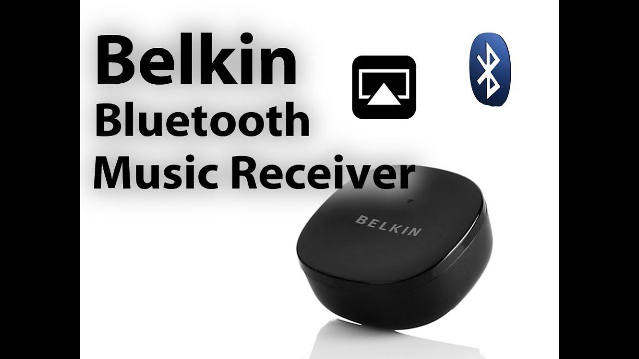 Belkin NFC Enabled HD Bluetooth Music Receiver - Bluetooth ...