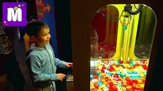 Германия #8 Леголенд играем в автомат новые игрушки в ToysRus и МакДональдс VLOG Legoland