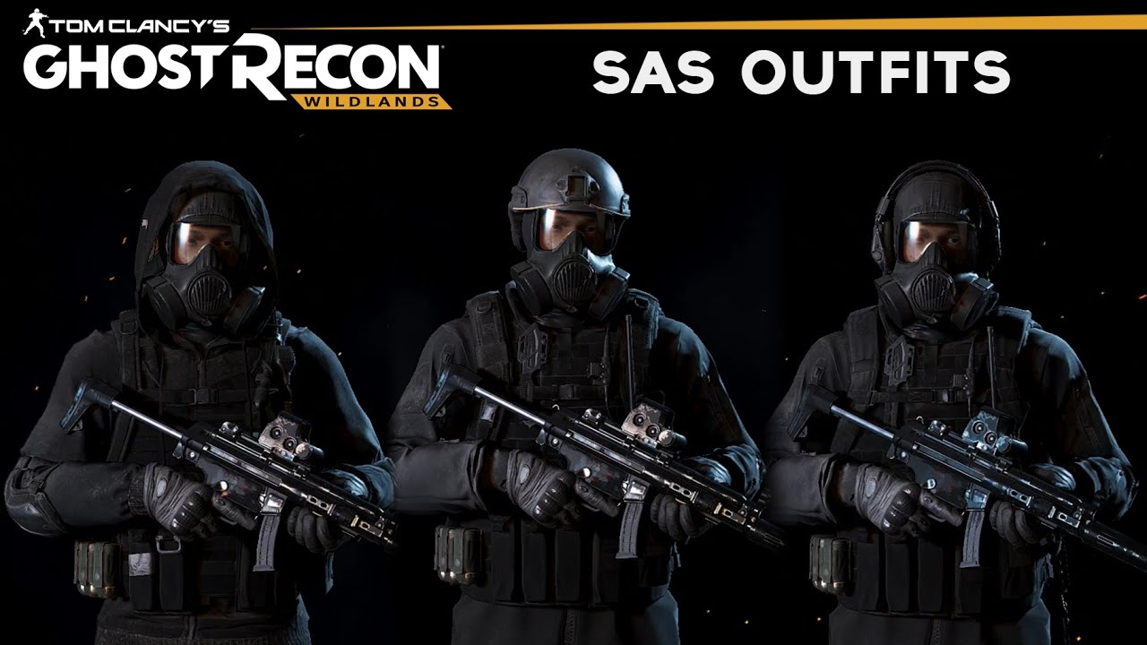 ghost recon wildlands how to make sas outfits british s