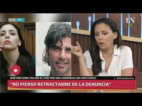 Anita Co: 'No pienso retractarme de la denuncia a Darthes' - Entrevista en LN+