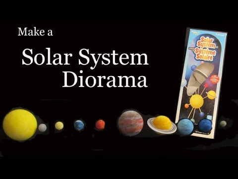 Make a Solar System Diorama with the Floracraft Kit - YouTube