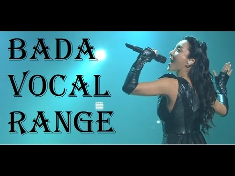 Bada - 바다 - Live Vocal Range (C3-Bb5-C6)