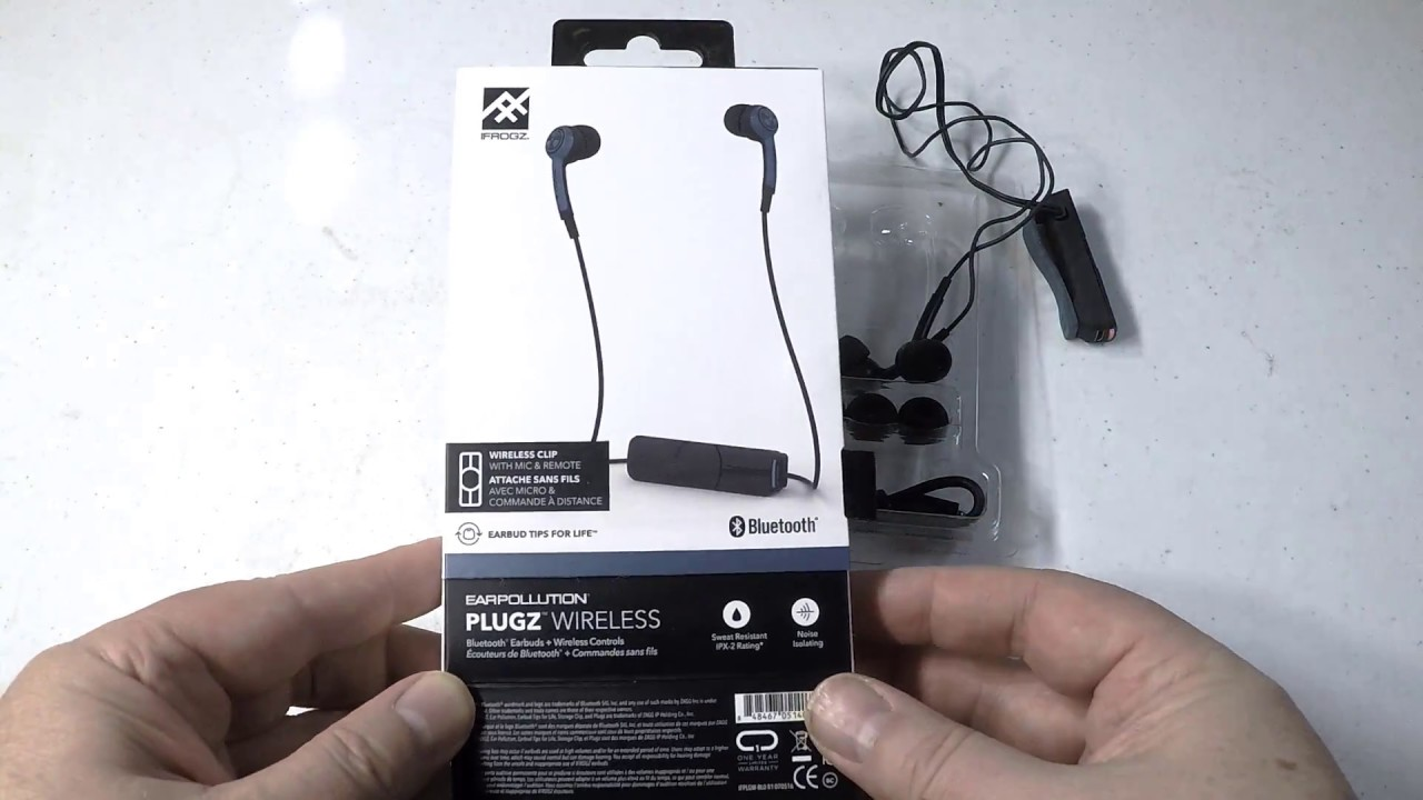 ifrogz plugz wireless earbuds unboxing review youtube. Black Bedroom Furniture Sets. Home Design Ideas