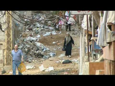 Plight of Palestinian refugees in Lebanon