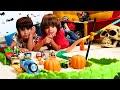 LEGO JURASSIC WORLD con Dani y Evan!! Somos DINOSAURIOS de ...