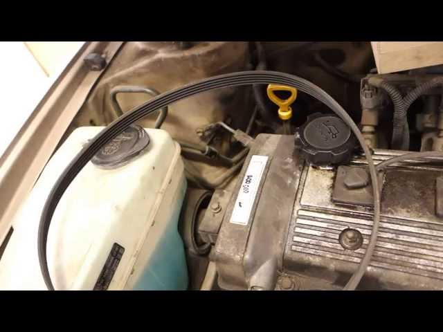 how to replace drive belt toyota corolla years 1991 to 2000 youtube 1992 Corolla