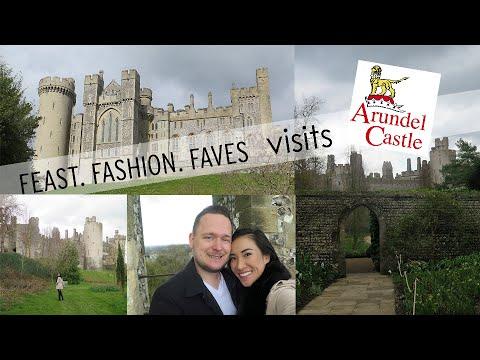 Visiting Arundel Castle in West Sussex, England