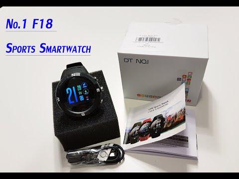 NO.1 F18 Sports Smartwatch |Greek Review|