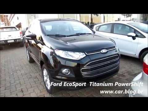 Ford EcoSport Titanium 2.0 Automática - Preta - www.car.blog.br