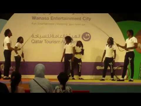 Amazing Africa Acrobats.