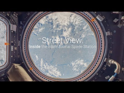 Go Inside the International Space Station with Google Street View