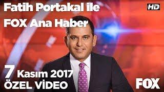 Nitelikli okul tartışması..7 Kasım 2017 Fatih Portakal ile FOX Ana Haber