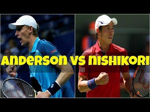 Kei Nishikori vs Kevin Anderson | Semifinal New York 2018 Highlights
