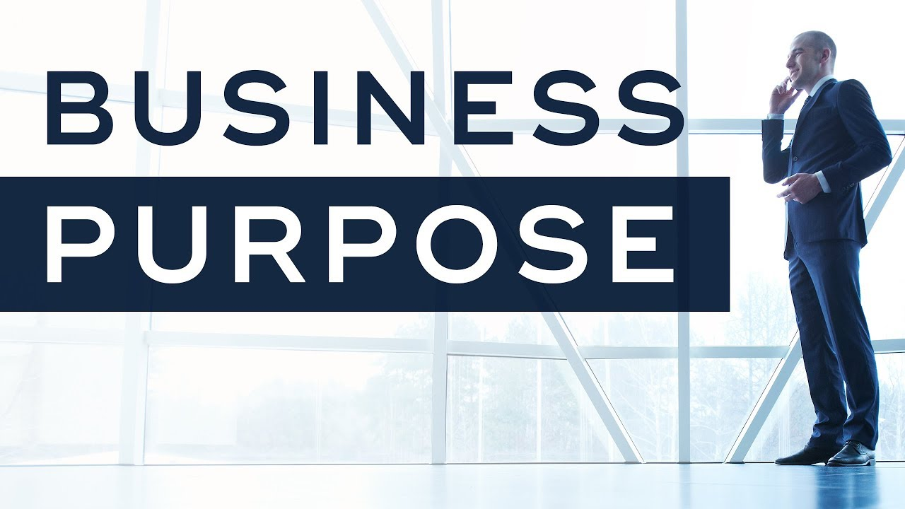Statements of Purpose for Businesses