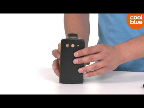 Xccess Leather Flip Case Huawei Ascend G525 productvideo (NL/BE)