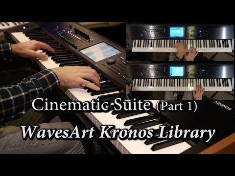 WavesArt Harp & Symphonic Suite Kronos EXs Library (Part 1)
