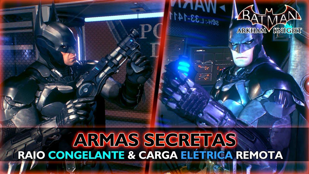 ARMAS SECRETAS - Batman: Arkham Knight (Raio Congelante