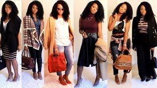 OOTD Fall/Winter Fashion Lookbook: Grown Woman Edition. | BorderHammer