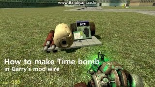 [Gmod] How to make Time bomb in Garry