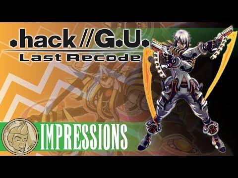 .hack//G.U. Last Recode Impressions