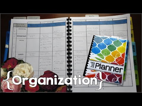 Simply Organized Planner by a Stay-at-Home Mom of 9