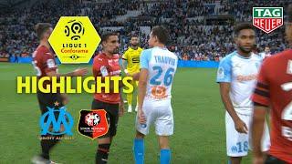 Olympique de Marseille - Stade Rennais FC ( 2-2 ) - Highlights - (OM - SRFC) / 2018-19