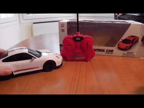 Quick review of porsche rc car! 10$?!