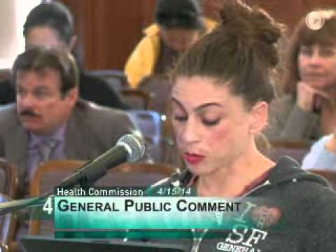 Melissa Pitts testifies about unsafe conditions in SF General Hospital Emergency Room