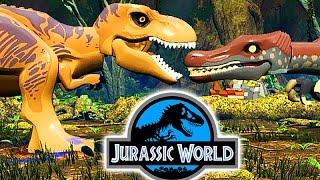 Тираннозавр Рекс Мир Юрского Периода и Динозавры Мультфильм для детей. Тираннозавр против Динозавров