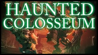 Baumi plays THE HAUNTED COLOSSEUM!!
