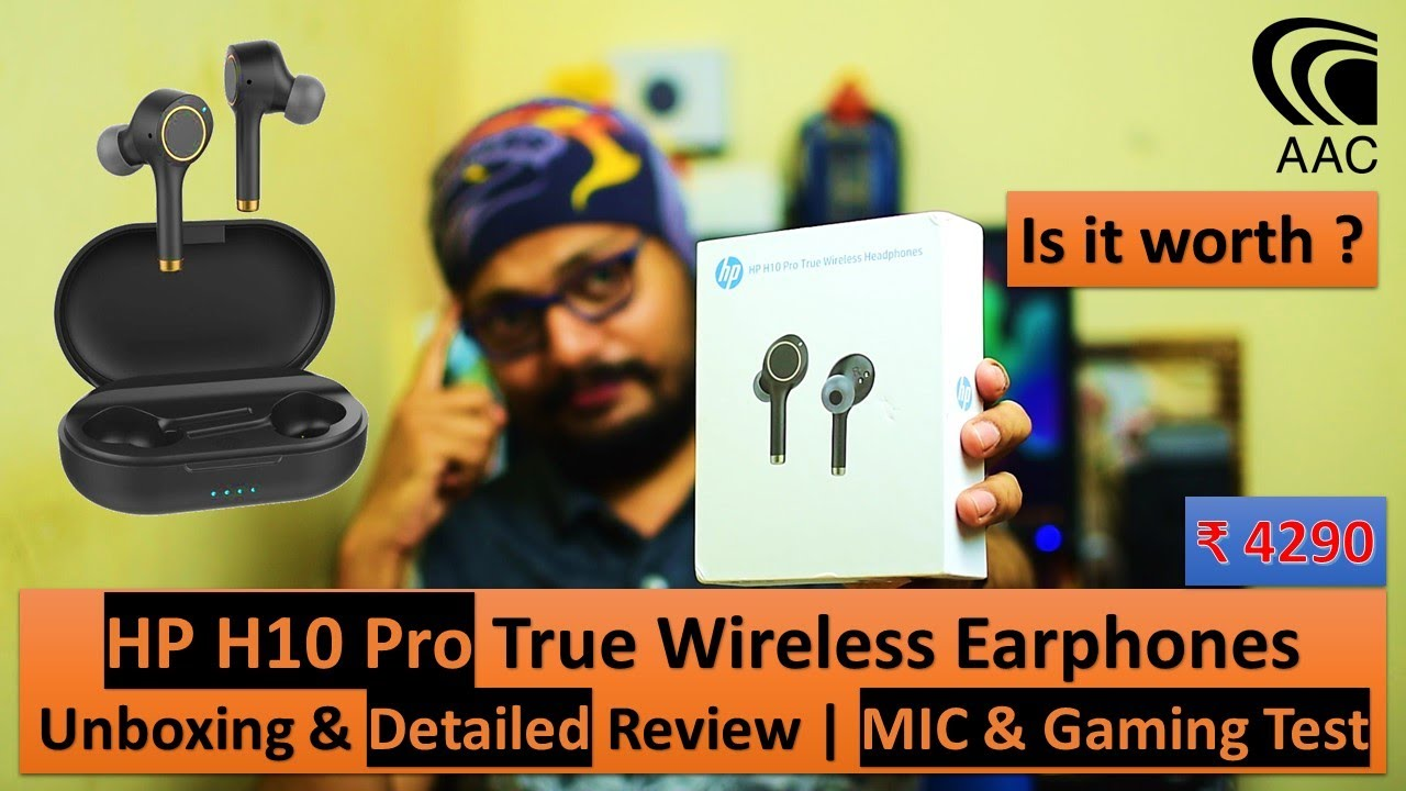 HP H10 Pro True Wireless Earphones 😱😡 | Detailed Review & UnBoxing | MIC & Gaming Test