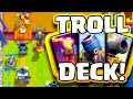 THE MAKING OF A TROLL DECK [Clash Royale] New Arena Challenge with Nickatnyte!