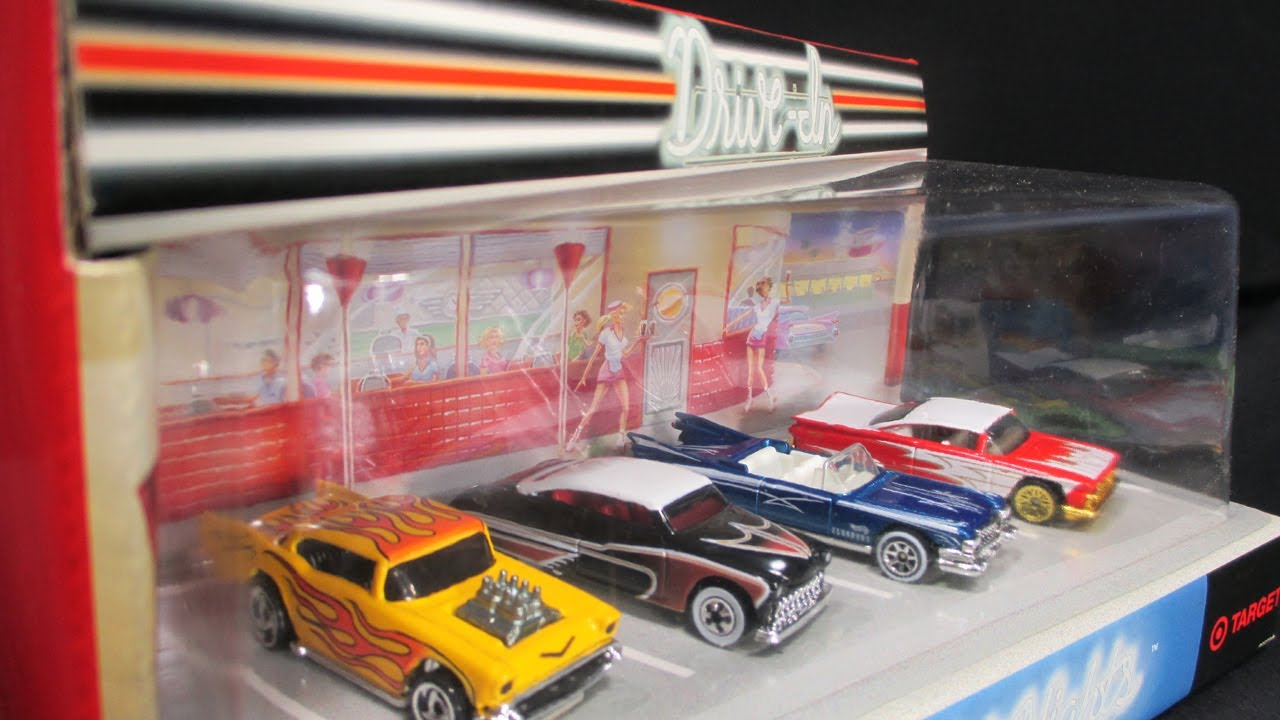 & Hot Nights Drive-In Hot Wheels Target Exclusive Box Set - YouTube Aboutintivar.Com