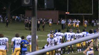 Stafford vs James Monroe High School Sept 2, 2011 Great Cheer Stuns and SHS Defense
