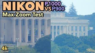 Nikon P1000 vs P900: Max Zoom Test - Museum