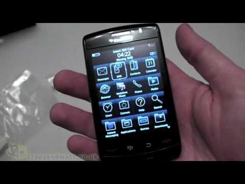 Blackberry Storm2 unboxing video