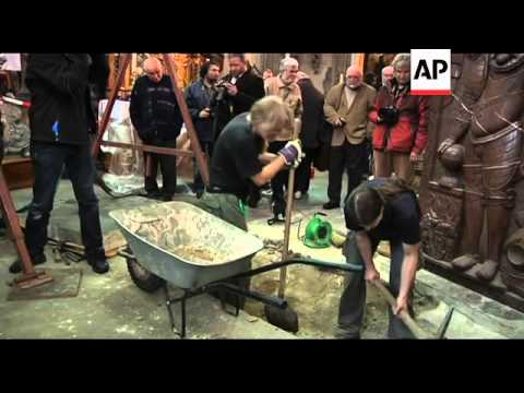Remains of famous 16th century astronomer exhumed