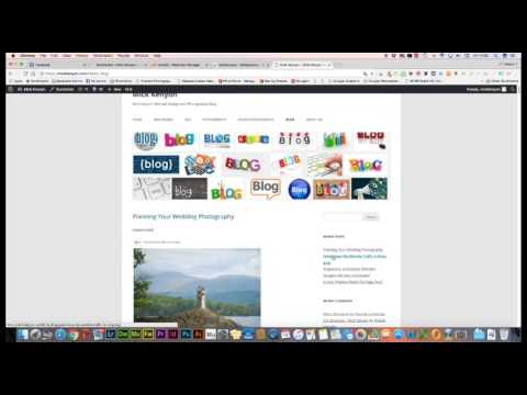 how to add a blog to a wordpress website