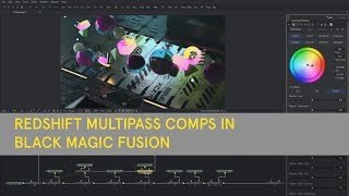 Redshift Multipass Comps With Black Magic Fusion